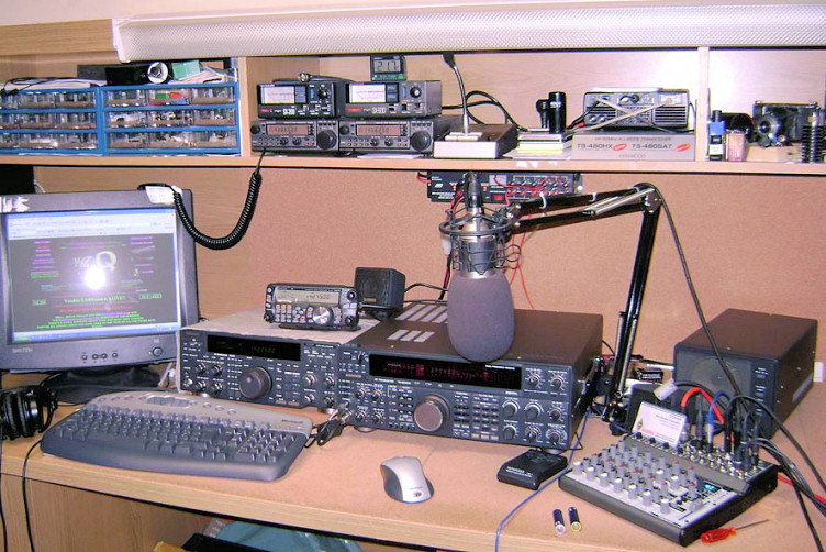 The old Audio Station of CT2HAR!