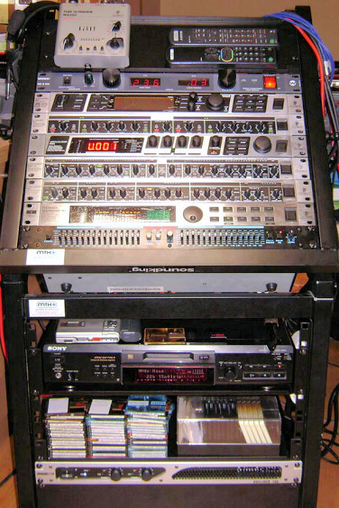 The Old CT2HAR Audio Rack!